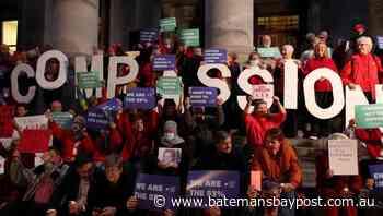 SA parliament passes assisted dying law   Bay Post-Moruya Examiner   Batemans Bay, NSW - Bay Post/Moruya Examiner