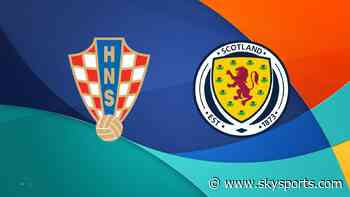 Euro 2020: Croatia vs Scotland - follow live in-play action and stats - Sky Sports