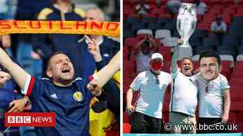 Euro 2020: Who will England's 'little Scotland' be supporting? - BBC News