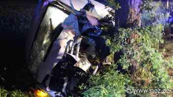 Fahrer eines Kleintransporters stirbt nach Unfall in Stemwede - NOZ