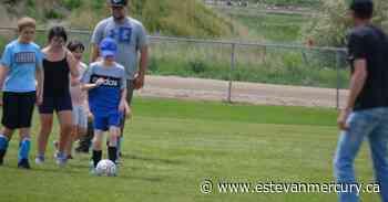 Kids getting their kicks in at soccer games - Estevan Mercury