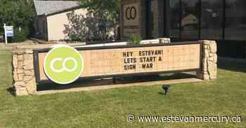 Photos: One, two, three, four ... Estevan declares Sign Wars - Estevan Mercury