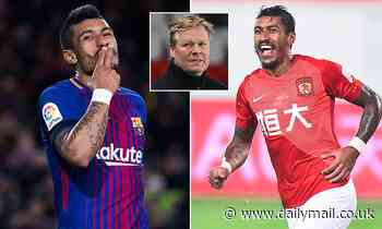 Paulinho determined to return to Europe after terminating contract with  Guangzhou Evergrande