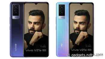 Vivo V21e 5G With MediaTek Dimensity 700 SoC, 44W Fast Charging Launched in India: Price, Specifications