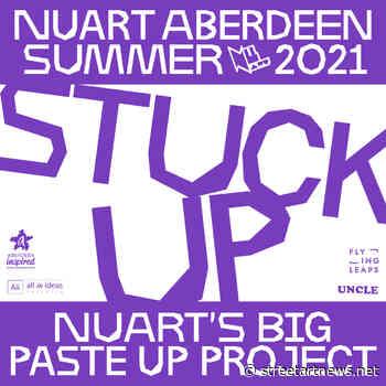 """""""STUCK UP"""" by Nuart Aberdeen Summer 2021 in Aberdeen, UK - StreetArtNews"""