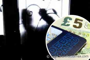 Herefordshire woman stole debit card and broke window