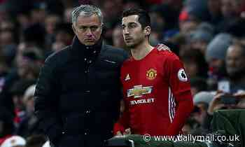 Jose Mourinho 'held clear-the-air talks with Henrikh Mkhitaryan' following appointment as Roma boss