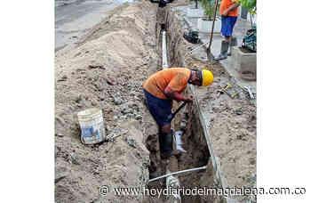 Essmar E.S.P. instala redes de acueducto en el barrio Bellavista - HOY DIARIO DEL MAGDALENA
