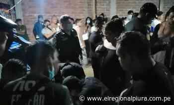 Sullana: en Bellavista más de 80 personas fueron intervenidas en el 'Aventurero' - El Regional