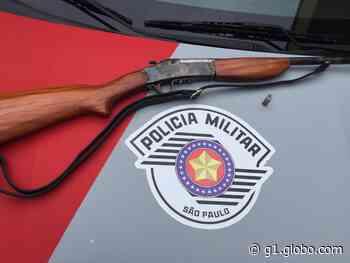 Irmãos são presos após disparar contra vizinho durante briga em Cunha - G1