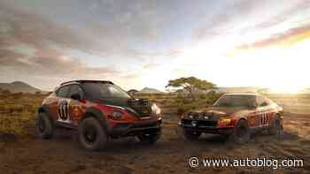 Nissan Juke becomes a heritage-laced, Z-inspired rally car