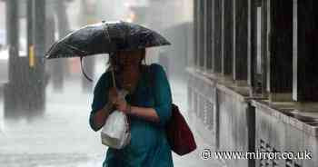 Washout weekend of downpours before temperatures soar for 4 week 30C heatwave