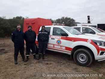 Regresaron los sabuesos de los bomberos pampeanos que buscaron a Guadalupe - El Diario de La Pampa