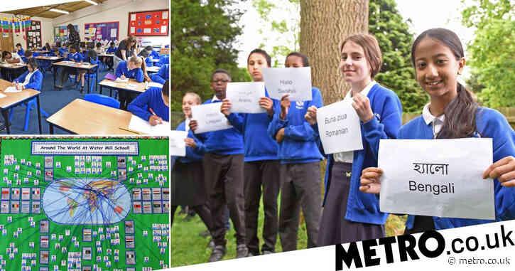 Pupils speak 30 languages at primary school dubbed 'mini United Nations'
