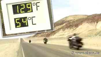 Mojave-Wüste: 54 Grad Celsius! Sommer im Death Valley beginnt – fällt der Rekord? (Video) - STERN.de