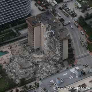 Zeker één dode nadat flatgebouw instort in Miami, zoektocht naar andere slachtoffers gaat voort