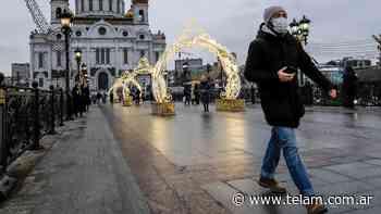 En Rusia los contagios y muertes por coronavirus vuelven a los niveles del invierno - Télam