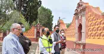 Entregan restauración de muro perimetral del atrio en el Santuario de Guadalupe - NTR Zacatecas .com
