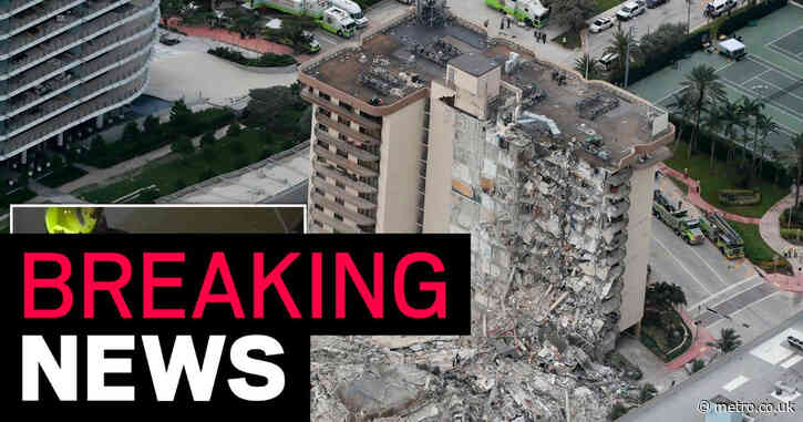 Rescuers pull 35 people from collapsed building on Miami Beach