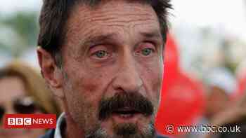 The final years of John McAfee's controversial life