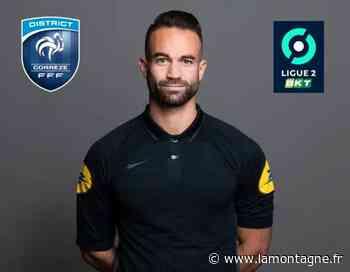 Nicolas Rodrigues de l'ES Ussel (Corrèze) promu arbitre assistant en Ligue 2 - La Montagne