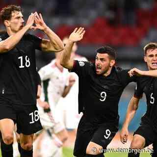 Live - EK voetbal. Duitse doelpuntenmaker Goretzka krijgt lof voor 'mega-mutige' actie
