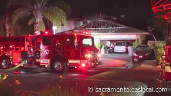 South Sacramento Home Being Remodeled Damaged In Early Morning Fire