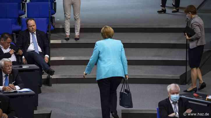 Merkel letzte Regierungserklärung vor EU-Gipfel: Ohne einen Hauch von Pathos