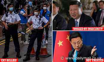 Chinese diplomats bristle at frank assessment of President Xi as 'dogged by insecurity'