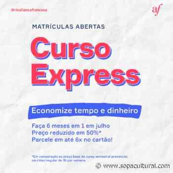 Aliança Francesa do Rio de Janeiro abre inscrições para curso Express e ateliês temáticos em julho - Sopa Cultural