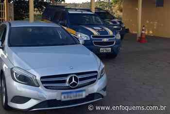 PRF recupera veículo de luxo roubado no Rio de Janeiro - Enfoque MS