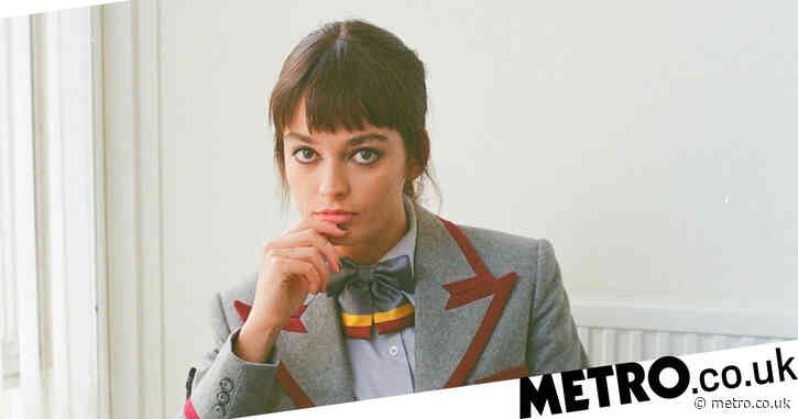 Sex Education season 3: All-change for the gang as Emma Mackey rocks school uniform in behind-the-scenes pictures