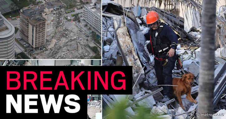 More than 50 people missing after Miami Beach building collapse