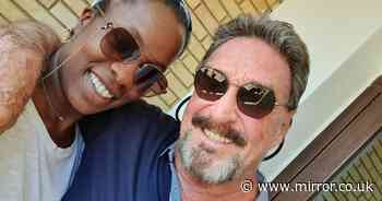 Wife of Brit software tycoon John McAfee says she was ordered to poison him