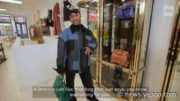 Bag designer Brandon Blackwood walks away with vintage Chanel during epic shopping spree - Yahoo News