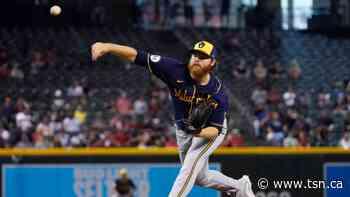 Woodruff great on mound, adds big hit, Brewers beat D-Backs - TSN