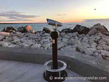 What a view of of a Great Lake - Goderich Signal Star