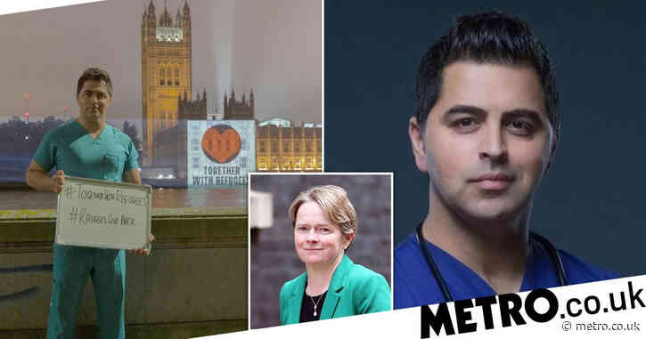 Child refugee who became NHS doctor calls vow to cut foreign staff 'dangerous'