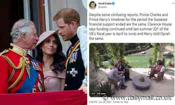 Prince Harry and Meghan Markle hit back at claims Prince Charles bankrolled them