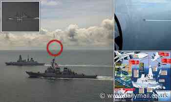 Russia threatens to BOMB any warship that sails too close to Crimea after Black Sea stand-off