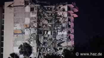 Hochhauseinsturz in Miami: ein Toter, noch 51 Bewohner vermisst