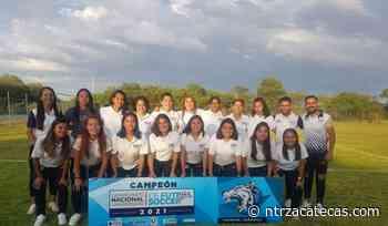 Tuzas, campeonas del Nacional Universitario de Futbol 2021 - NTR Zacatecas .com