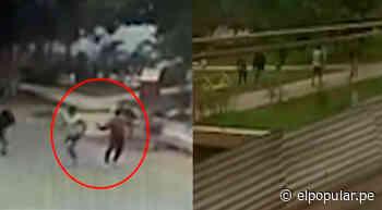 SMP: balacera entre barras bravas de Alianza Lima y Universitario dejó un muerto y un herido [VIDEO] - ElPopular.pe