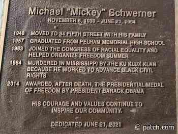 Pelham Dedicates Plaque To Civil Rights Leader Murdered By KKK - Patch.com