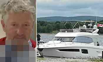 Fugitive stole $1.2 million yacht and claimed he was 'water-testing' it after being caught by cops