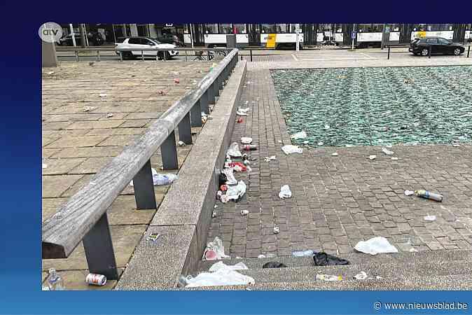 """Museumplein op Zuid opnieuw stortplaats van feestvierders: """"Enkel boetes helpen nog"""""""