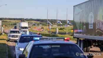 Traffic flowing freely at N.B.-N.S. border following 24-hour blockade