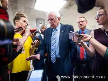 Bernie Sanders says he's 'tired of talking' about Senate colleagues Joe Manchin and Kyrsten Sinema Sinema