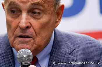 New York court suspends Rudy Giuliani's law license