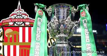 Sunderland will face Port Vale in the Carabao Cup